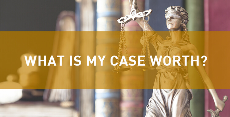 What is the value of my Car Accident case?