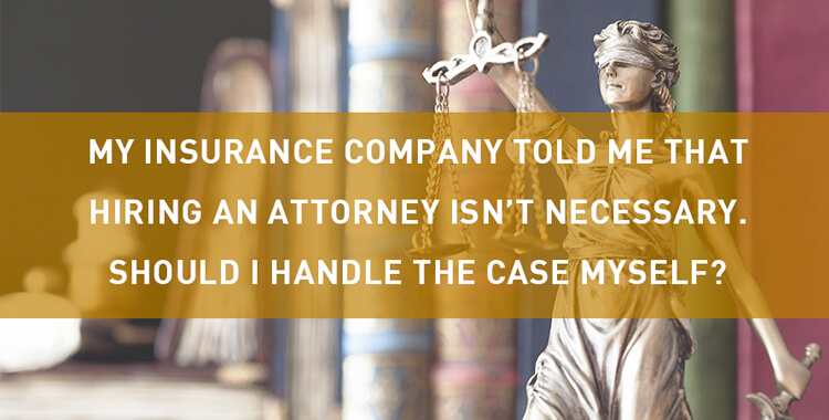 Should you handle your Car Accident case?