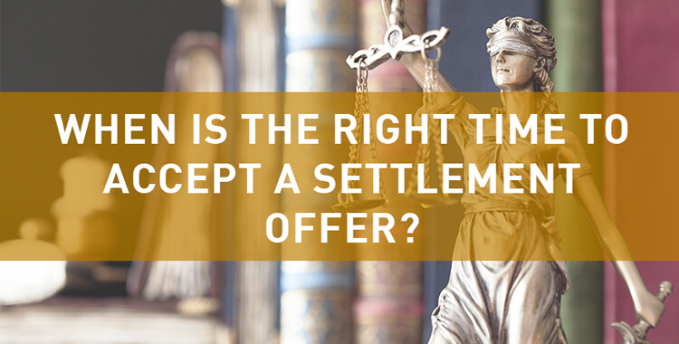 When should you accept an automobile claim settlement offer