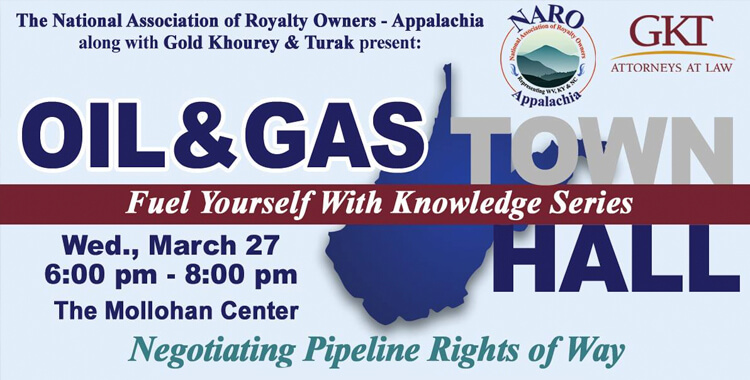 Pipeline Rights of Way Q&A in New Martinsville