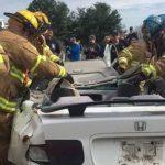 Mock DUI Auto Accident - Crash