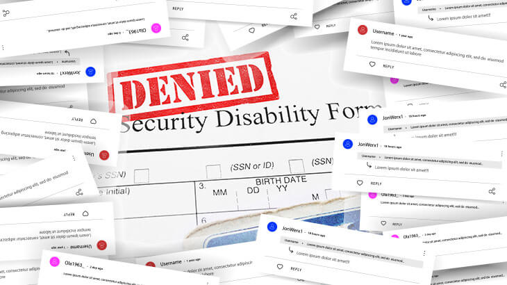 Denied Disability Claim because of Social Media Posts