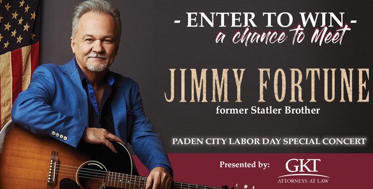 Meet Jimmy Fortune in Paden City