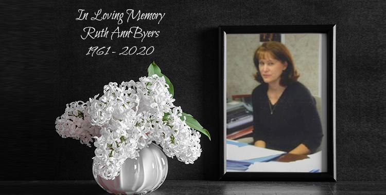 In Loving Memory – Ruth Ann Byers