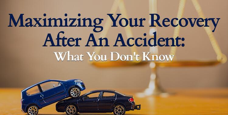 Maximize Your Compensation After A Car Accident