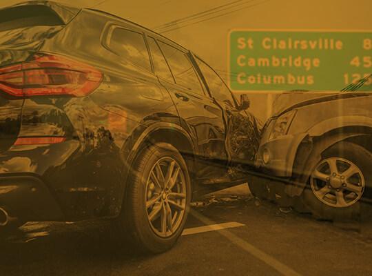 Auto Car Accident in St. Clairsville Ohio