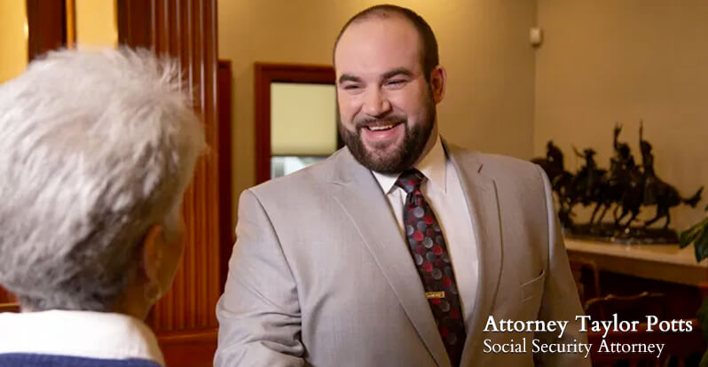 Saint Clairsville Ohio Social Security Attorney Taylor Potts