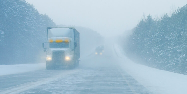 Truck Accidents in Bad Weather