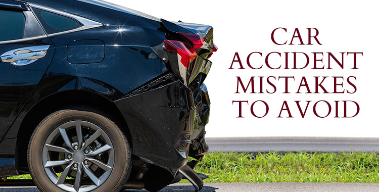 Car Accident Mistakes To Avoid