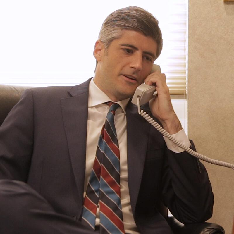 Christian Turak on Phone
