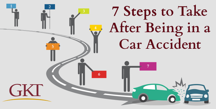 7 Steps to Take After Being in a Car Accident