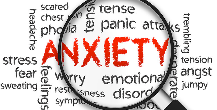 Anxiety Word Cloud for Car Accident