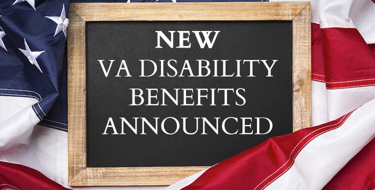 New VA Disability Benefits Announced