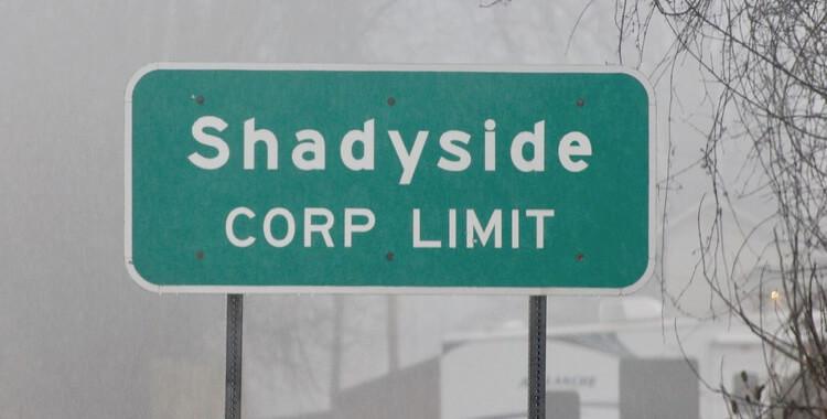 Shadyside sign