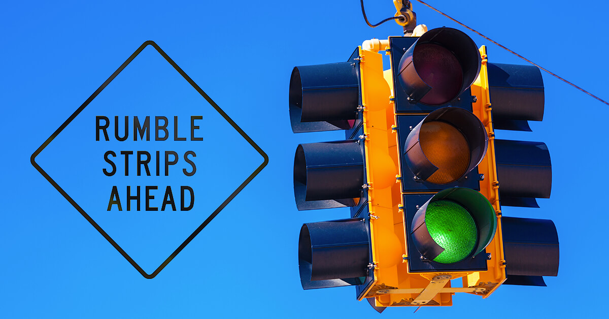 Rumble Strips or Stop Light in McMechen Route 2